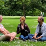 Kirtan and yoga discussion with Dearbhla Kelly and Dave Stringer