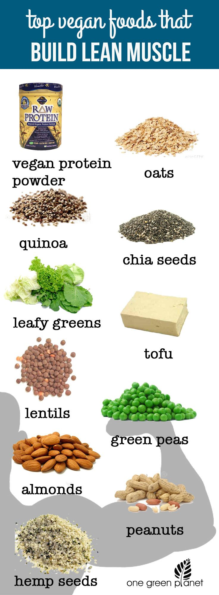 Top Vegan Foods that Build Lean Muscle