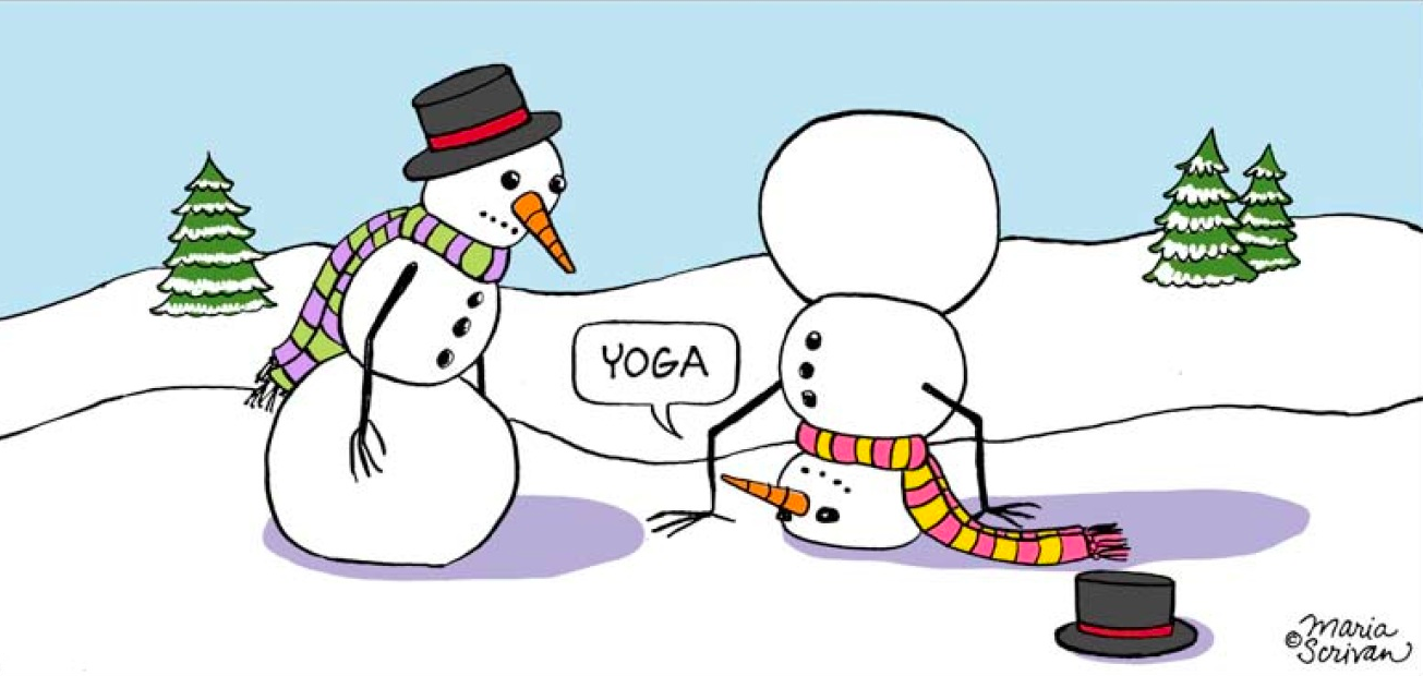 To Yoga, Or Not To Yoga Over The Holidays?