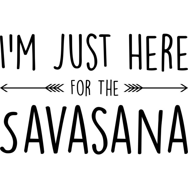 Why do we always roll over to the right after Savasana?